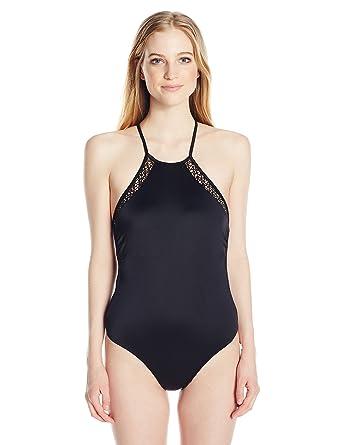 Reef Latigo Soft Cup High Neck One Swimsuit, Maillot de Bain Une Pièce Femme