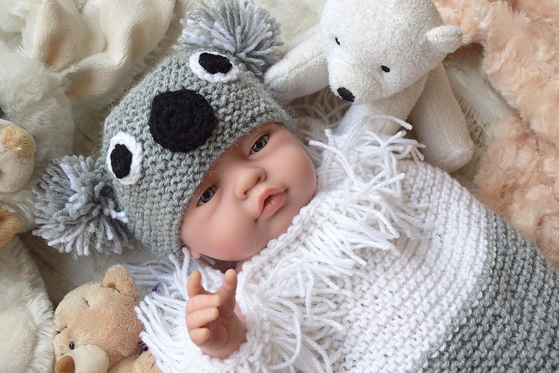 knitted sleeping bag newborn cocoon Baby sleeping bag ready to ship baby cocoon
