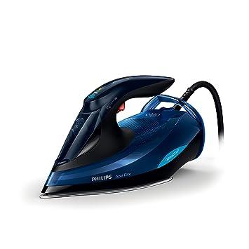 Philips gc5032//20/Dampfb/ügeleisen SteamGlide Dampfb/ügeleisen A, Sohle Plus, 2,5/m, 250/g//min, schwarz, blau, 65/g//min