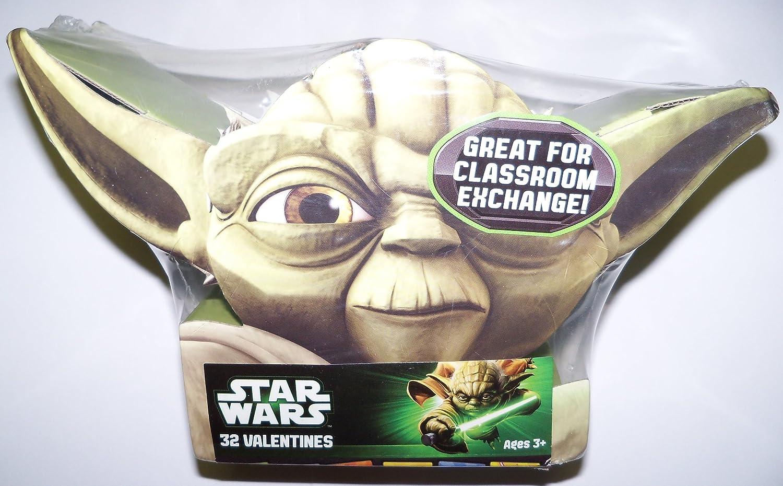 25 Star Wars Pop  Stickers Party Favors Teacher Supply  Yoda Darth Vadar