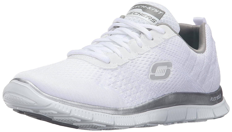 Skechers Flex Appeal Obvious Choice Damen Sneakers  36 EU|Wei? (Wsl)