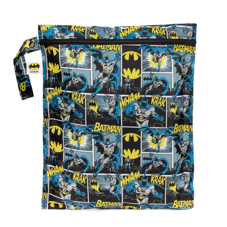 Bumkins Waterproof Wet Bag, Batman WB-WBBM20