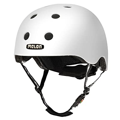 BMX Casque de vélo Casque de skate pour melon Urban Active, Brightest Mat, MUA. p002 m, Brightest Matt