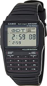 Casio DBC-32-1A Black Classic Databank Unisex Digital Calculator Watch