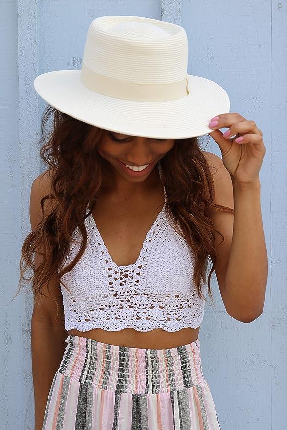 Amazon.com: Peter Grimm Maina Resort sombrero, talla única ...
