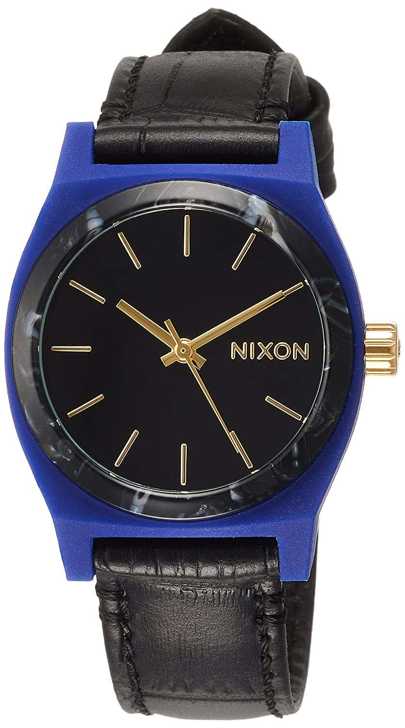 NIXON(ニクソン)- Medium Time Teller Leather