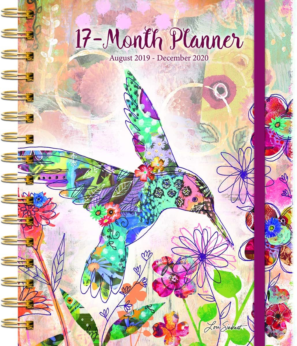 Wells Street by LANG WSBL Fanciful Flight 2020 Plan-It Planner (20997081004) Personal Organizer (20997081004)