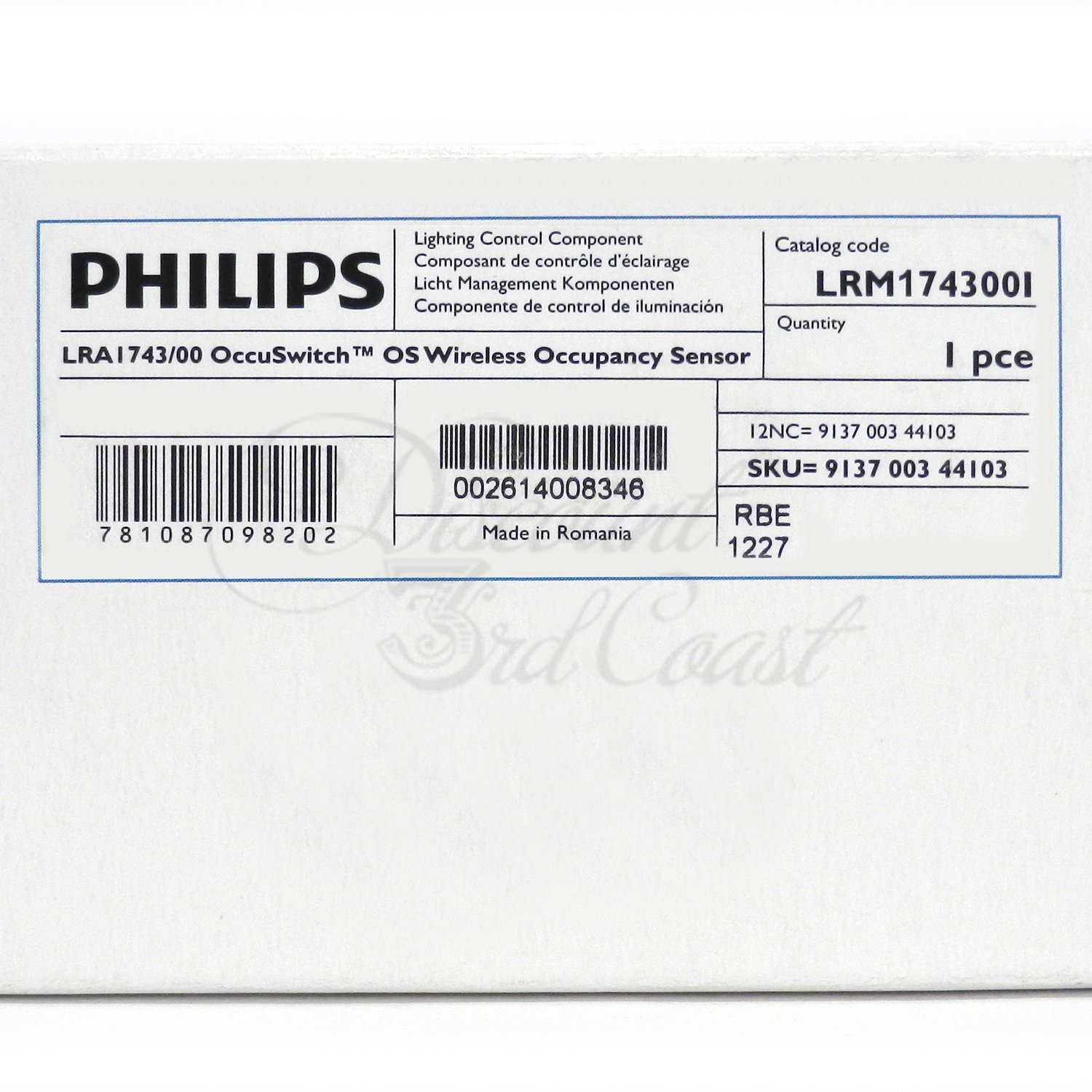 Amazon.com : PHILIPS LRM1743/00 OCCUSWITCH, WIRELESS OCCUPANCY SENSOR : Camera & Photo