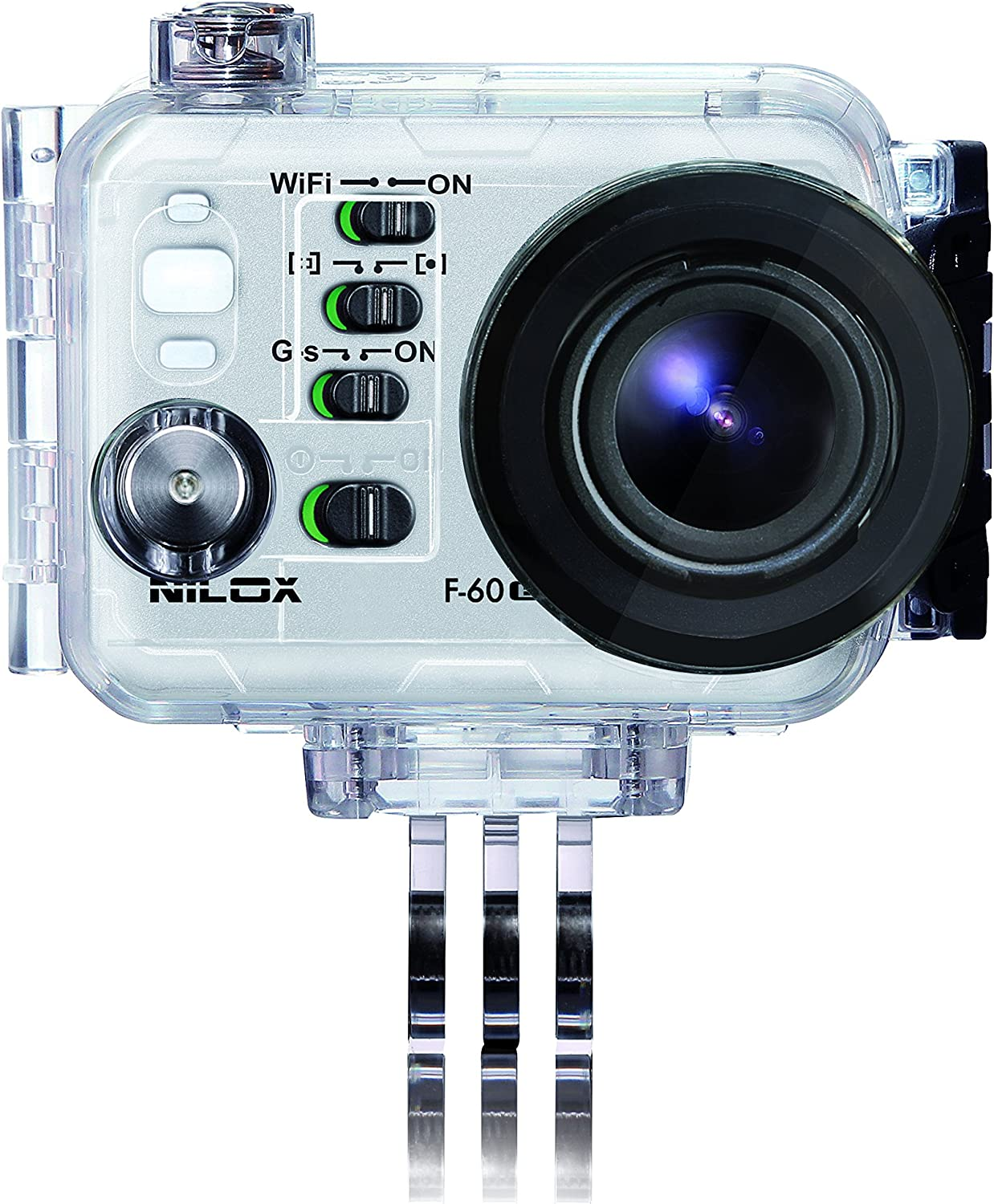 Navitech 8 in 1 Action Camera Accessory Combo Kit Compatible The Nilox Evo 360 Action Camera