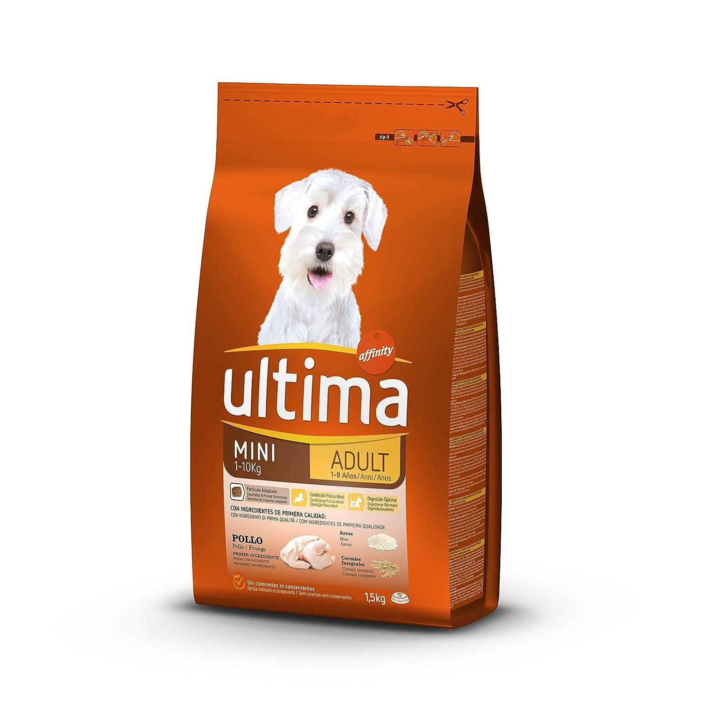 Ultima Pienso para Perros Mini Adultos con Pollo - 1.5 kg: Amazon.es: Alimentación y bebidas