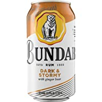 Bundaberg Dark and Stormy Rum 375ml Cans (Pack of 6)
