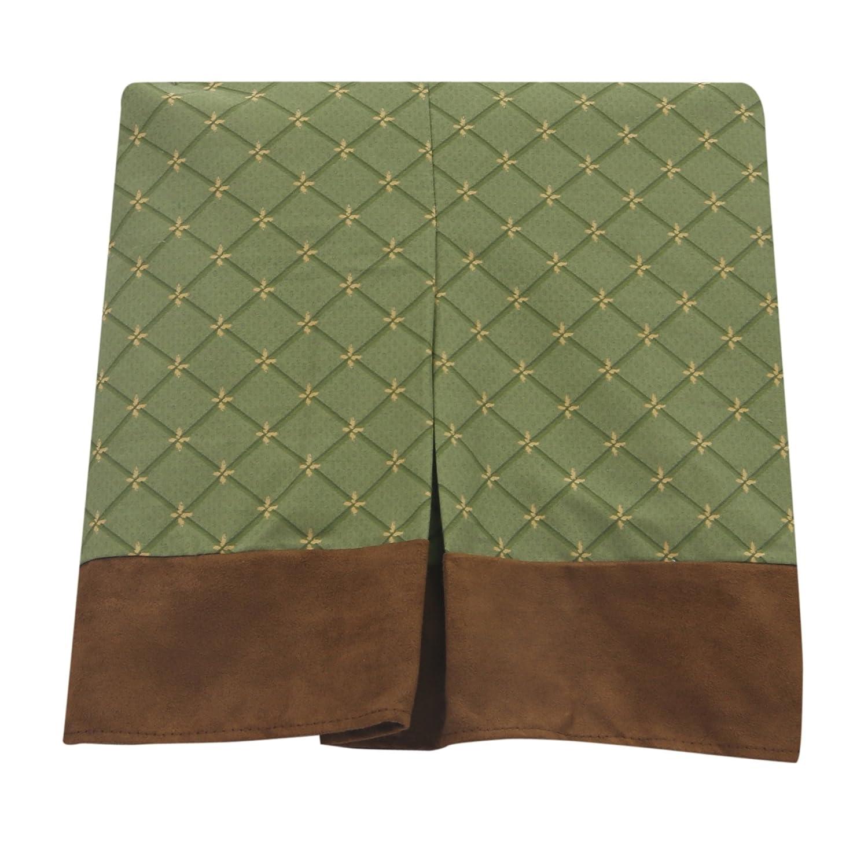 Echo Brown//Beige Lambs /& Ivy Forest//Woodland 7 Piece Crib Bedding Set