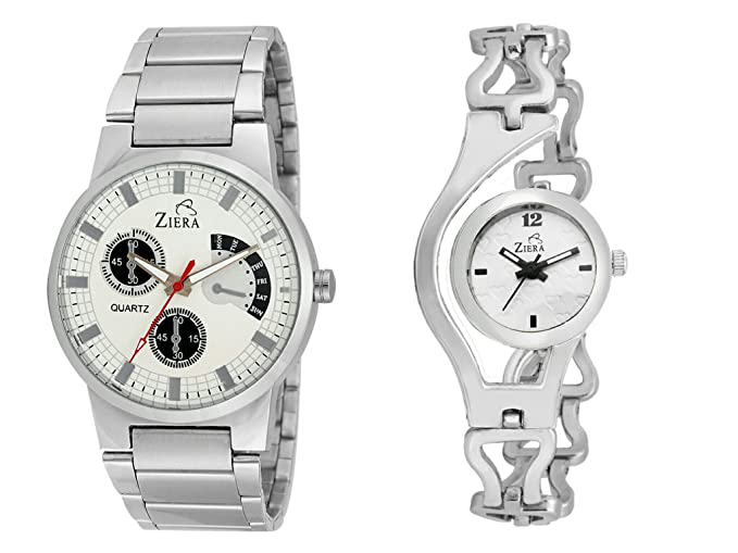 Bandhann Analogue White Dial Couple's Watch