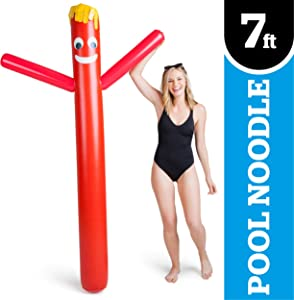 BigMouth Inc Wacky Waving Tubeman Pool Float, Over 6 Feet Long, Funny Inflatable Vinyl Summer Pool or Beach Toy, Patch Kit Included