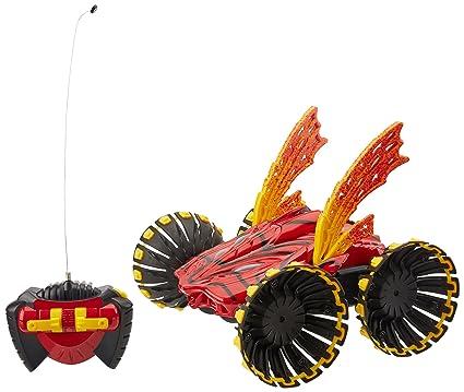 Hot Wheels Rc Control Remoto Stunt Psycho Coche Color Rojo