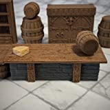 Deluxe Tavern Set - 28mm Gaming Terrain