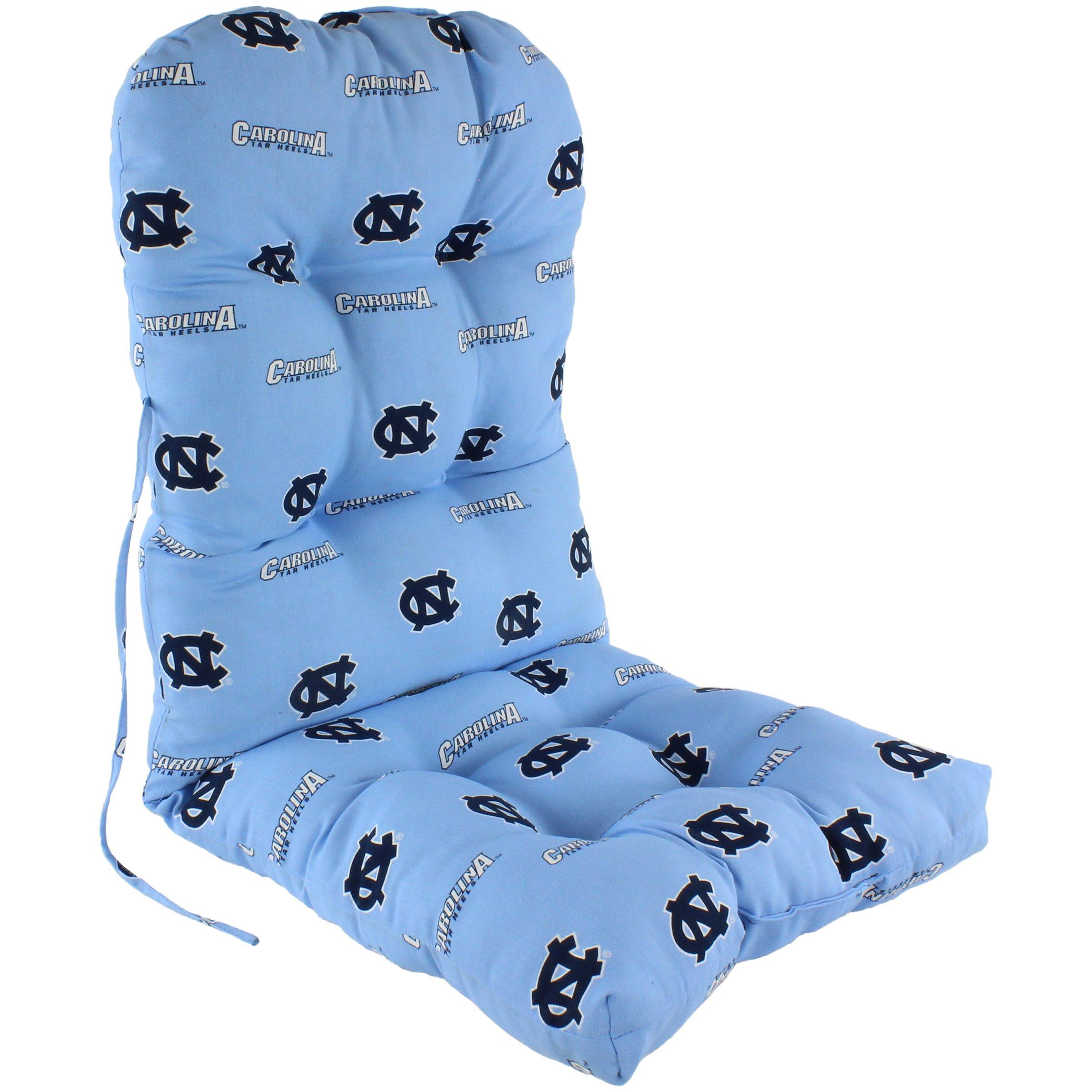 College Covers North Carolina Tar Heels Adirondack Chair Cushion, Blue