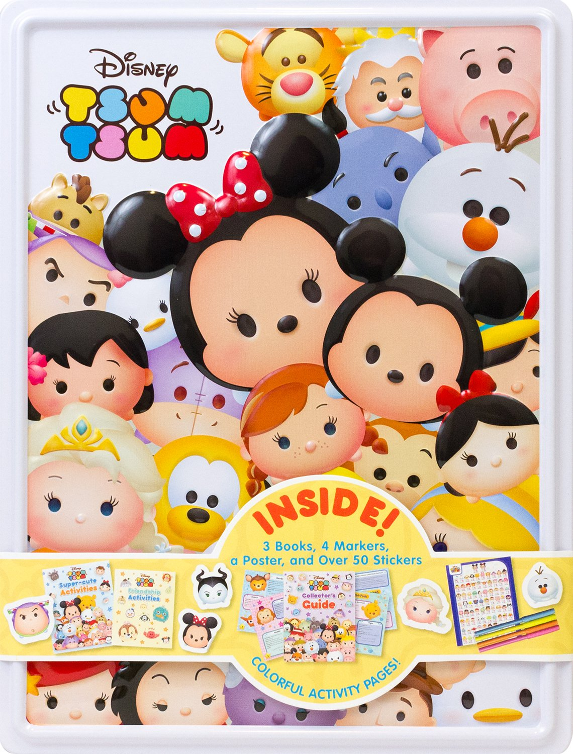 Disney Tsum Happy Tin Parragon Books Ltd 9781474859837 Amazon