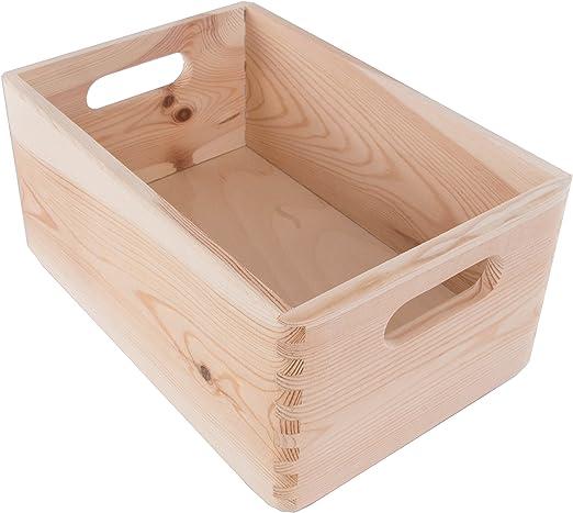 Search Box Pequeñas apilables Caja de almacenaje con Asas/Caja de ...