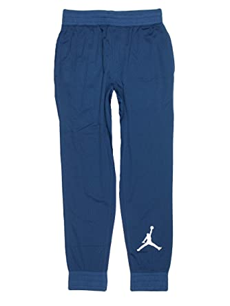 0ac51dd9a70 Nike Boys' Air Jordan More Than Mesh Joggers, French, Blue, Small (8 ...