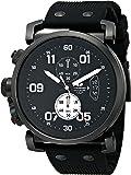 Vestal Men's OBCS011 USS Observer Chrono Analog Display Japanese Quartz Black Watch
