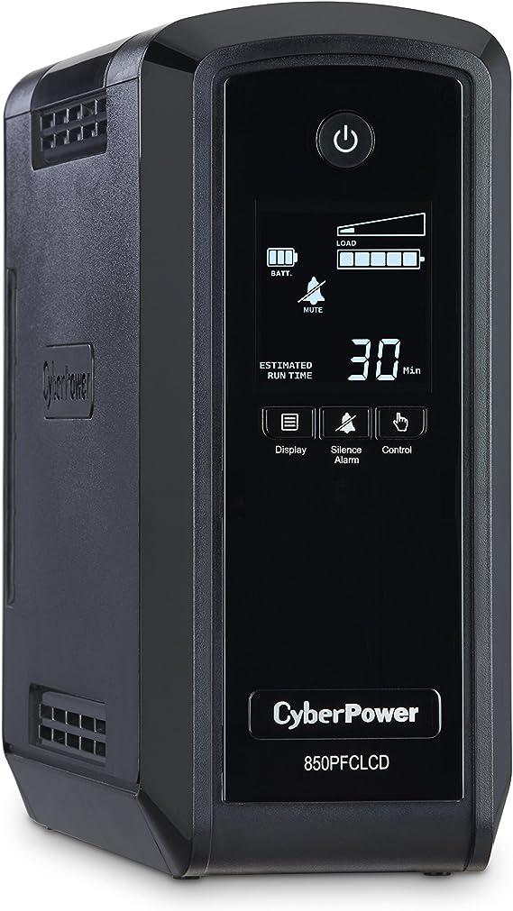 CyberPower CP850PFCLCD PFC Sinewave UPS System