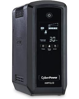 CYBERPOWER SYSTEMS USA BRG1000AVRLCD 1000VA AVR LCD UPS 120V 10 OUT