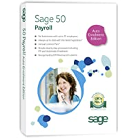 Sage 50 Payroll - 25 Employees Explore Auto Enrolment Edition (PC)