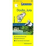 Doubs, Jura Michelin Local Map 321 (Michelin Local Maps)