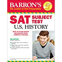 Barron's SAT Subject Test U.S. History with Online Tests