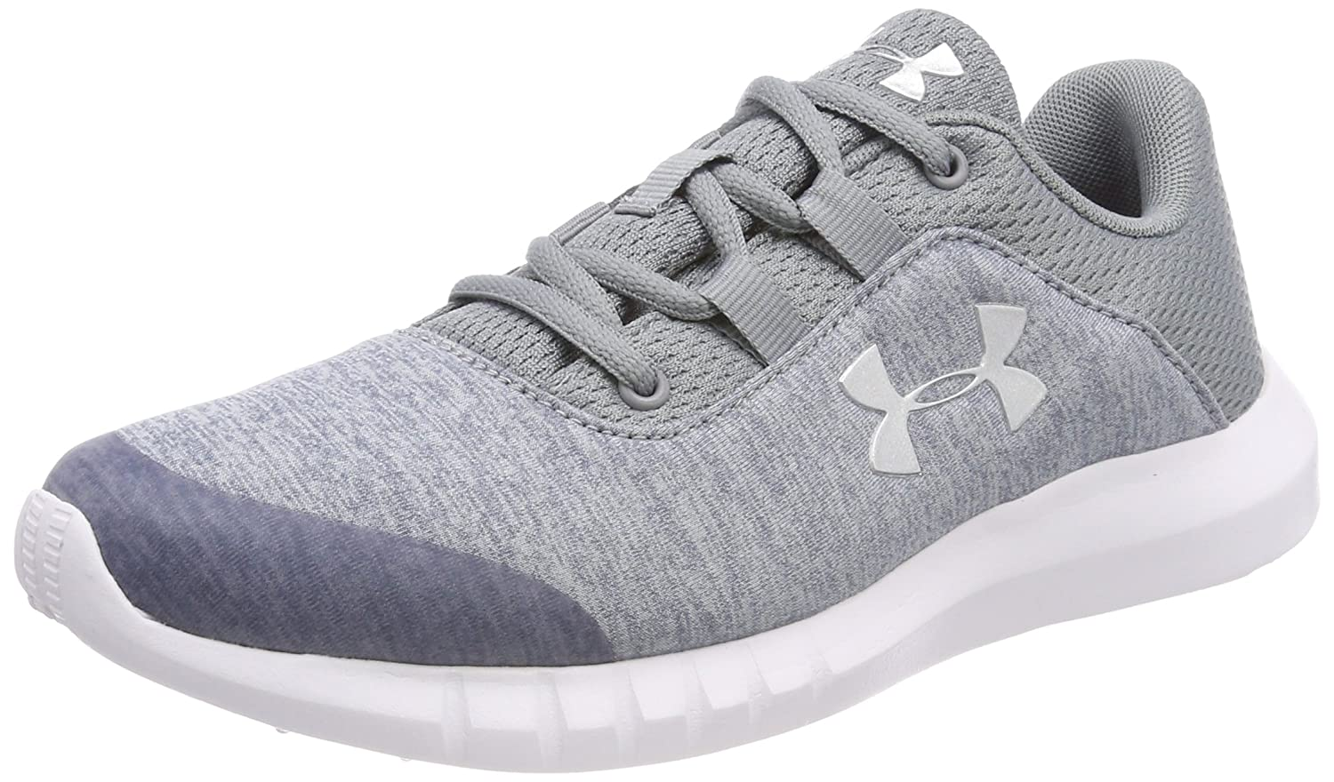 Under Armour UA GGS Mojo, Mojo, Mojo, Chaussures de Running Compétition Fille 40 EU|Gris (Steel) 940765