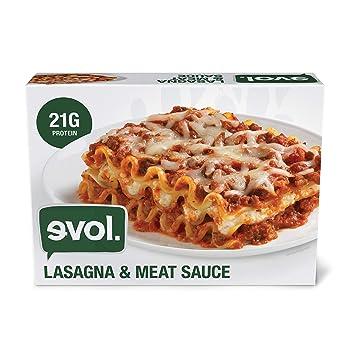 Evol Meat Sauce Frozen Lasagna
