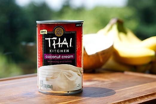 Thai Kitchen Coconut Cream (6x13.66 OZ): Amazon.co.uk: Grocery