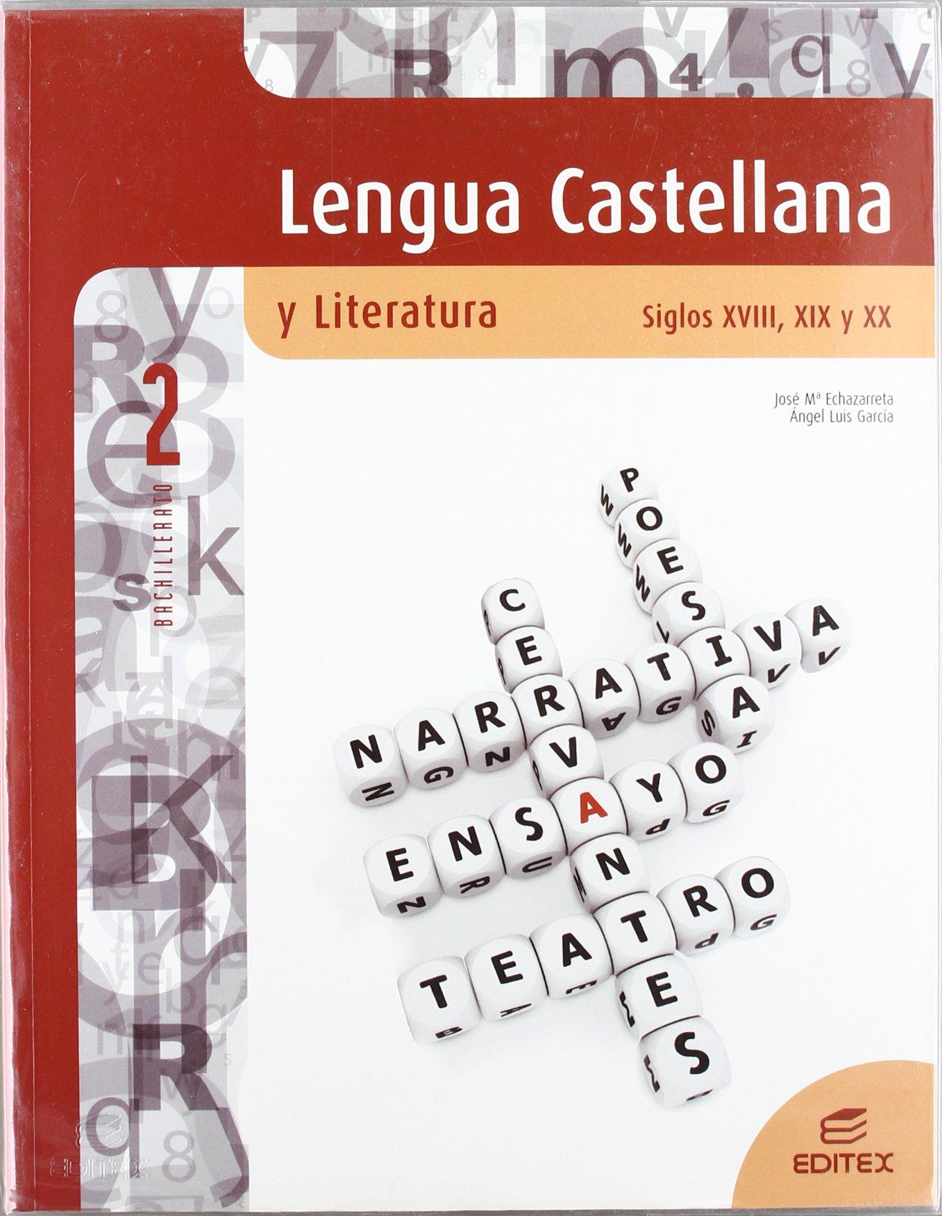 Download Lengua castellana y Literatura. Siglos XVIII, XIX y XX 2º Bachillerato ebook
