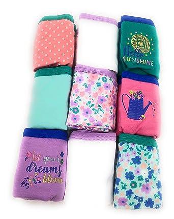 a3ab8271d57 Amazon.com  Wonder Nation Girl s 9-Pack Panties