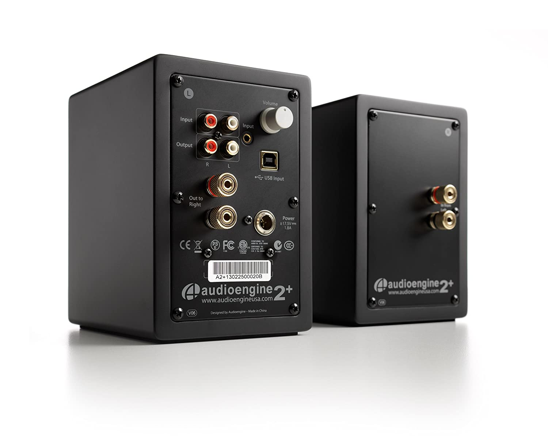 A2 premium powered desktop speakers youtube - Audioengine A2 Mini Bookshelf Powered Speaker A2 B Black Amazon Ca Computers Tablets