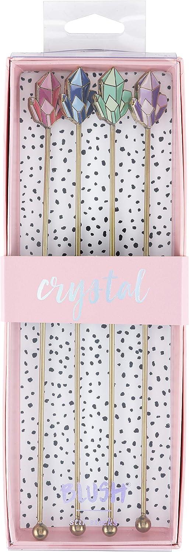 Assorted Blush 5760 Crystal Stir Sticks Swizzle