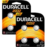 Duracell Specialty Type 2032 Alkaline Coin Battery (Pack of 8)
