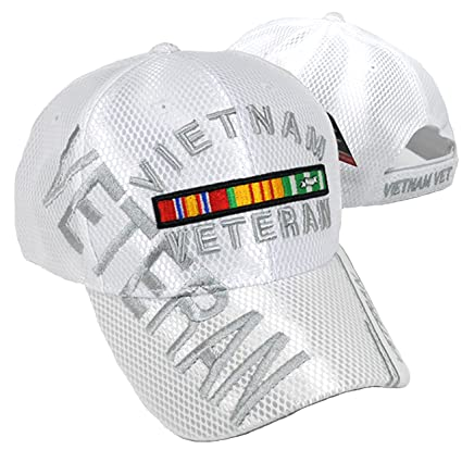 Amazon.com  Buy Caps and Hats Vietnam Veteran Embroidered Military ... b6fe7b8dc2b