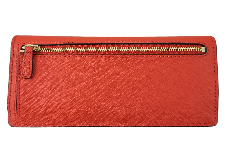 5ee330b3b389 Michael Kors Jet Set Travel Flat Saffiano Leather Wallet (Sienna Orange)   Amazon.co.uk  Clothing