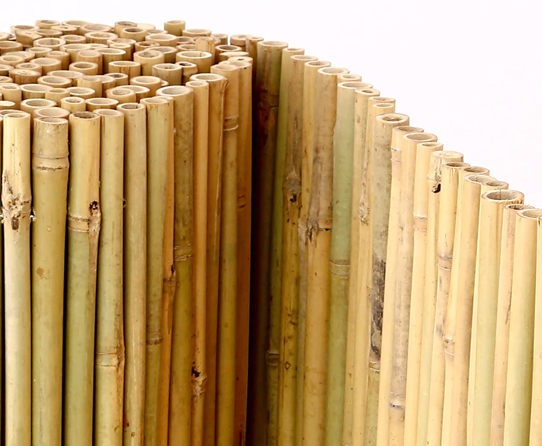 Bambusmatte Bali extrem stabil 150 x 300 cm mit Draht