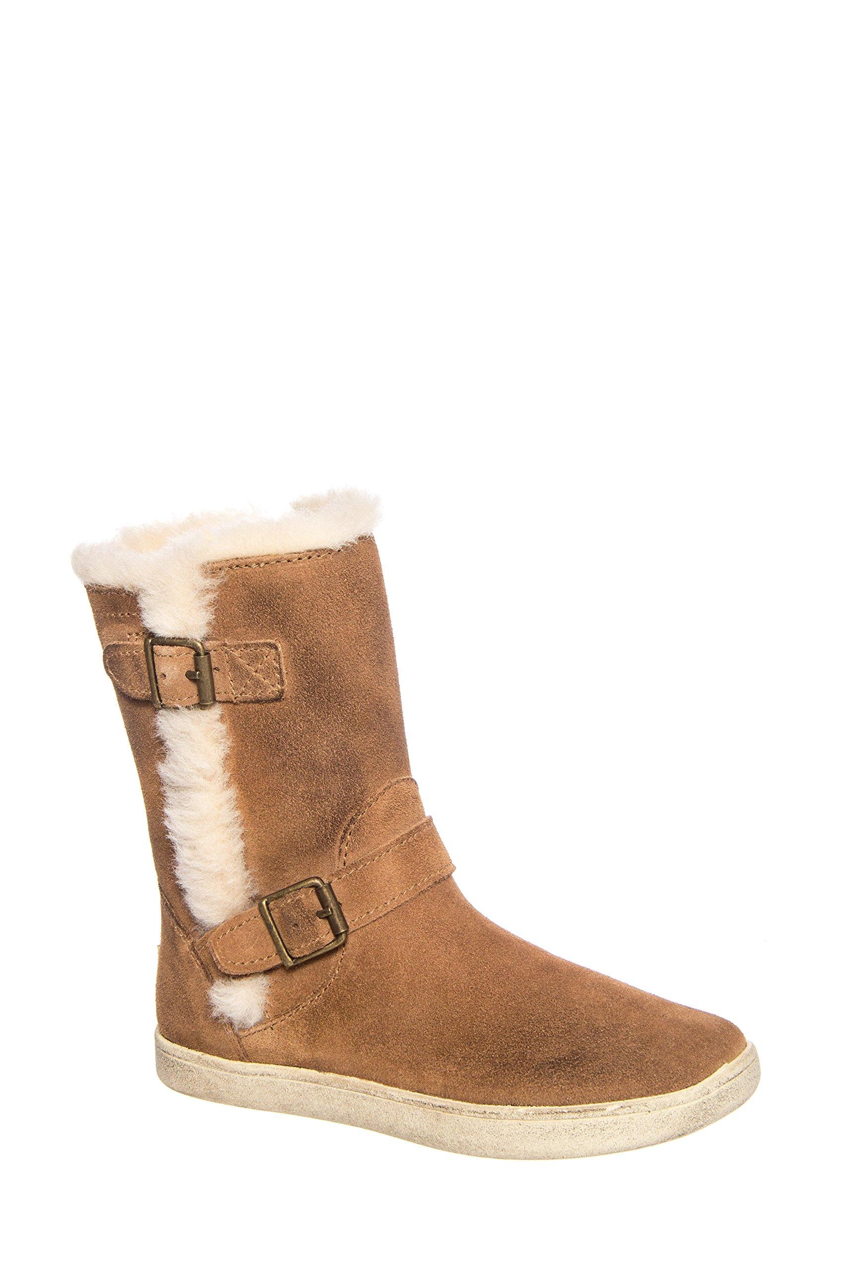 UGG Australia Girls Barley Boot Chestnut Size 4 M US Big Kid