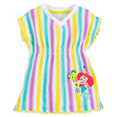 51a1134b92 Amazon.com: Disney Ariel Swim Cover-up For Baby: Clothing