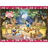Amscan - Disney Princess Snow Wite Teme Plastic Tablecover 48 x 70 Inces