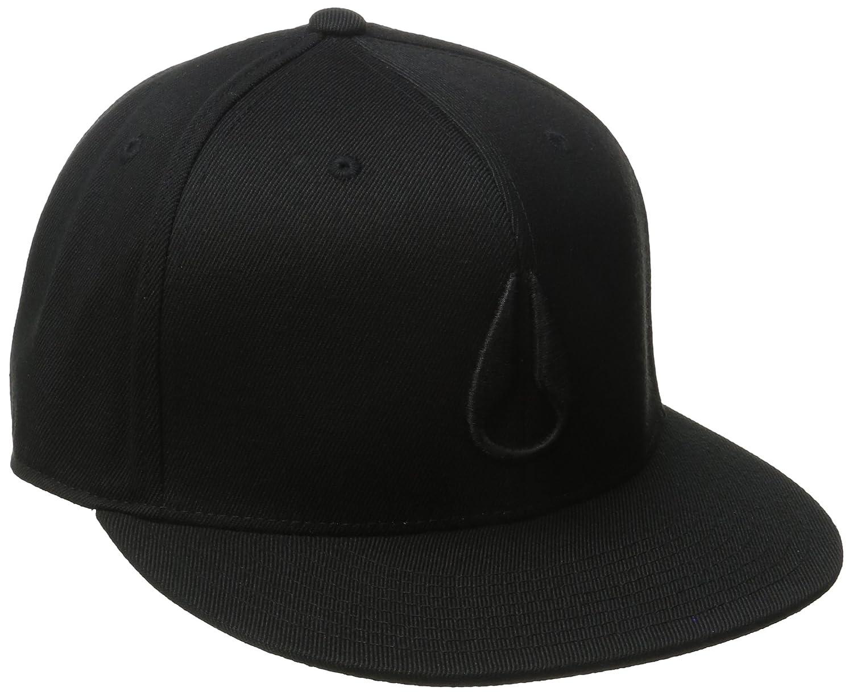 NIXON Gorra de béisbol para Hombre Negro Todo Negro. S/M: Amazon ...