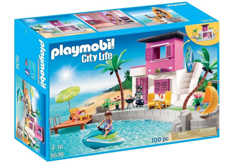 Playmobil 5636 Maison De Plage De Luxe Edition Limitée