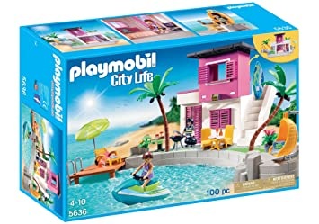 Amazon.de:PLAYMOBIL Luxury Beach House Playset