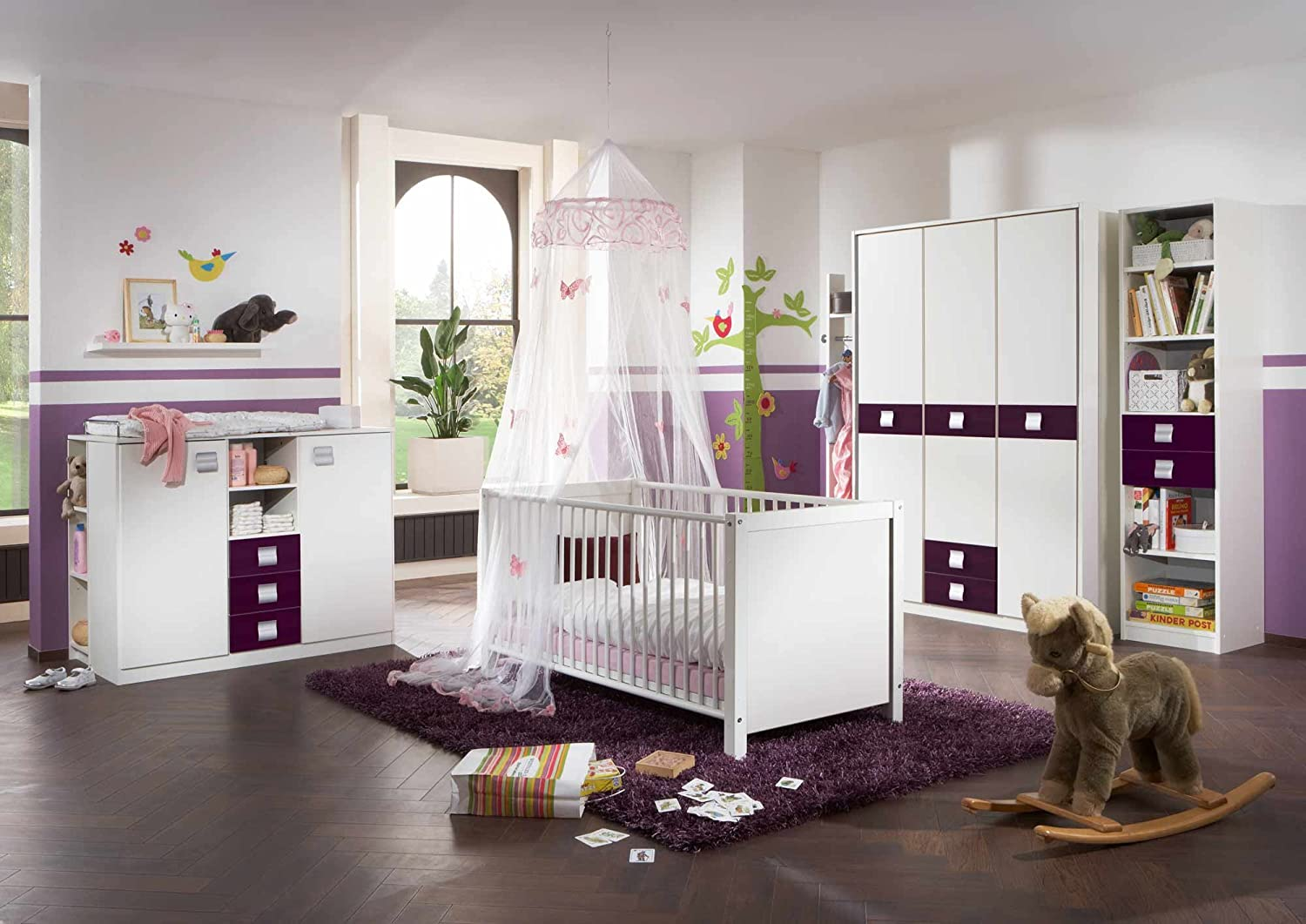 kinderzimmer komplett set g nstig. Black Bedroom Furniture Sets. Home Design Ideas