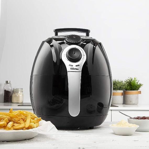 Freidora Crispy Fryer XL Tristar FR-6990 - no necesita aceite - hasta cinco raciones cada vez: Amazon.es: Hogar