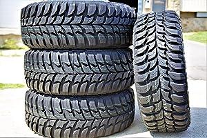 Set of 4 (FOUR) Crosswind M/T Mud Radial Tires-LT285/75R16 126/123Q LRE 10-Ply
